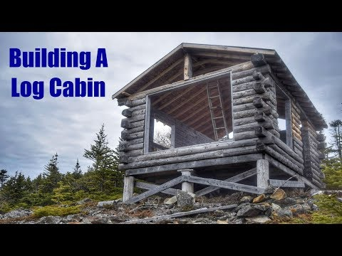 Building A Log Cabin / Roof Work