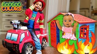 Mom My House Is On Fire! (Goo Goo Gaga Pretend Play Various Professions)