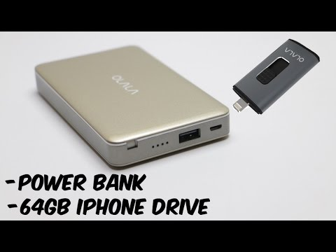 OLALA iPhone Accessories Review - Power Bank & 64gb iPhone Flash Drive