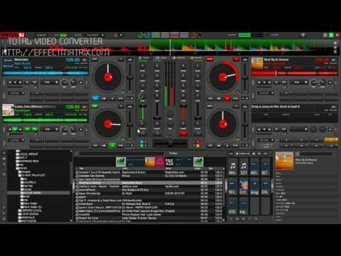 best echo effect using virtual dj 8 by black coffee nd mat7