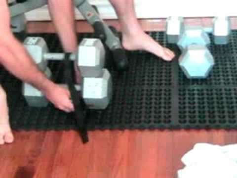 How to make your dumbells heavier