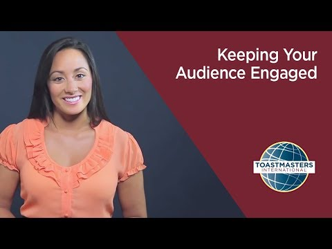 Keeping Your Audience Engaged