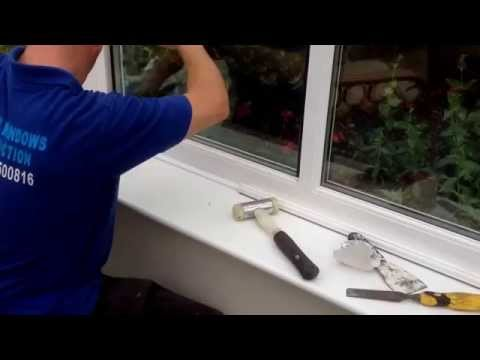 How to replace glass in a double glazed window