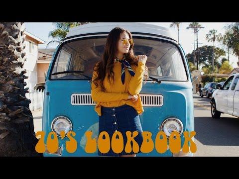 Groovy 70's Lookbook | Elena Taber