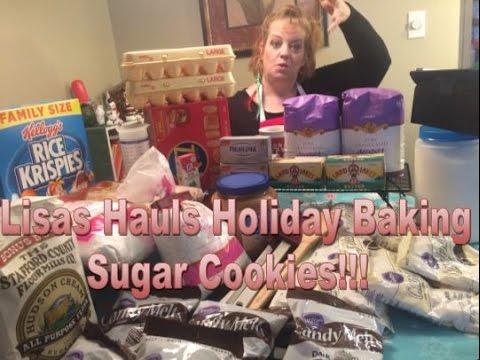 Sugar Cookie Dough - Christmas Cookies