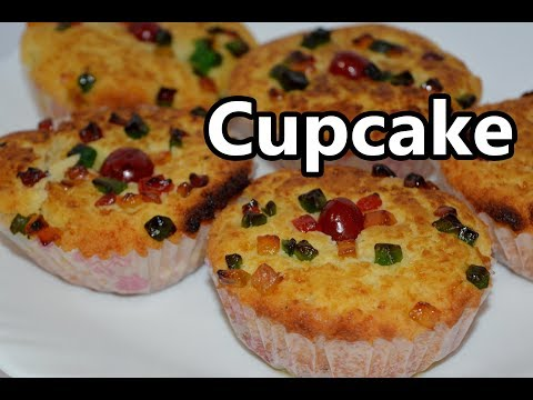 CupCake Recipe | கப்கேக்  | Pressure Cooker Cupcake | Christmas special recipe