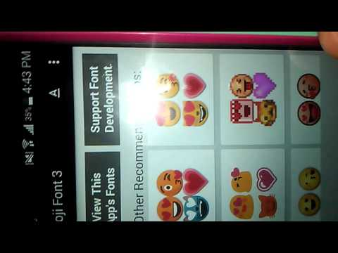 How to get ios\iphone emojis on Android devices No