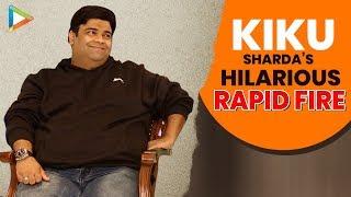 """If I woke up as Shahid Kapoor as of now I would be really"": Kiku Sharda | Rapid Fire | Rohit Shetty"