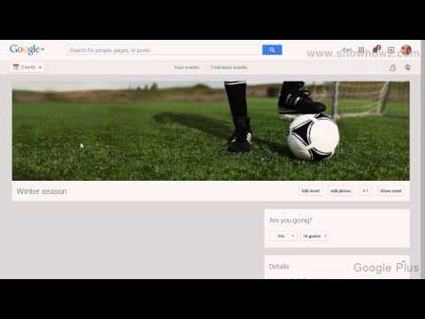 Google+ - How To Disable Guest Can Invite Other People To Your Own Event