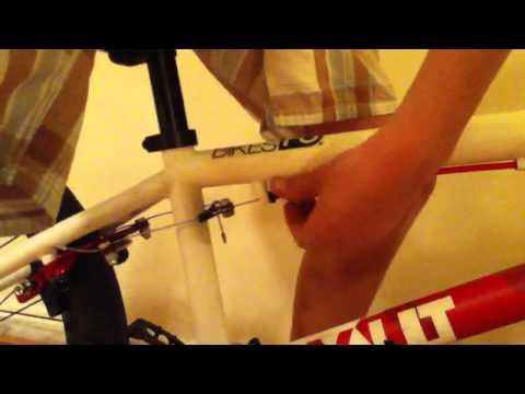 How to tighten your BMX bike brake handle