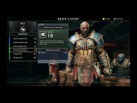 Give me god of war - Maxed Tyr's Armor Set - See Script for details