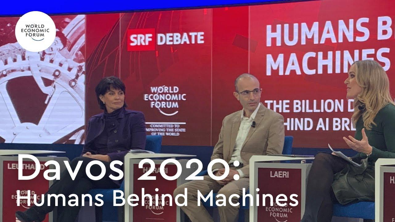 Yuval Noah Harari: Humans behind Machines - Davos 2020