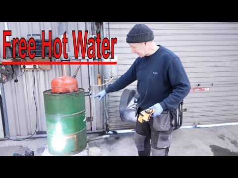 Xxx Mp4 Awesome Waste Oil Boiler FREE Hot Water Forever 3gp Sex