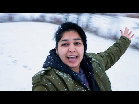 Bollywood Dancing?? OMG | VlogMas | North American (Canadian) Winter