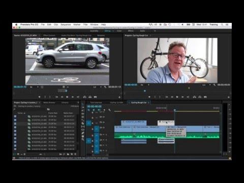 Premiere Pro tutorial: Linking / Unlinking Clips & locking tracks - Adobe Premiere Pro Training
