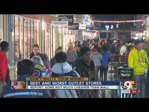 Best and worst outlet stores