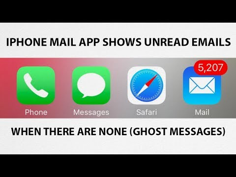 How-To Fix iPhone iOS Mail App Showing Unread Emails When There Aren't Any (Ghost Messages)