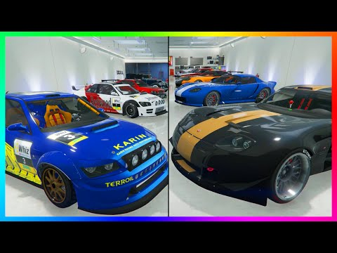 GTA Online MrBossFTW Updated 2016 Garage Tour With New Super Cars + Ultimate Livery Garage Wish!