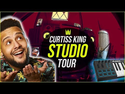 My Apartment Home Studio Tour | Curtiss King