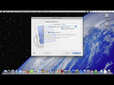 Mac Tutorial - How To Get Your Hotmail Account on Mail