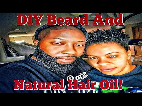 DIY Beard Oil and Natural Hair Oil! *Cheap