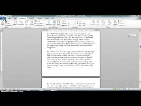 How to Resize an A5 Page to A4 in Microsoft Word : Microsoft Office Help