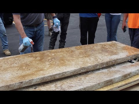 How To Stain Concrete Countertops With Aqua-Stain UV