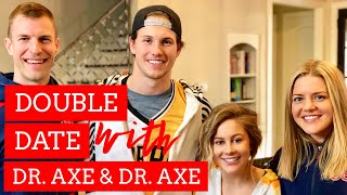 Double Date Night with Dr Axe + Dr Chelsea Axe &  Shawn Johnson + Andrew East