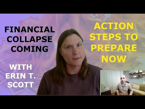 Financial Collapse Coming: Action Steps to Prepare Now. With Erin T. Scott // 2018 crash