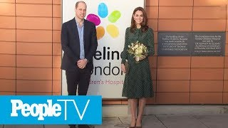 Kate Middleton Spreads Holiday Cheer With William At Children's Hospital | PeopleTV