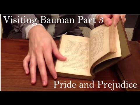 It's a First Edition of Pride and Prejudice!  Visiting Bauman Rare Books Part 3 of 5