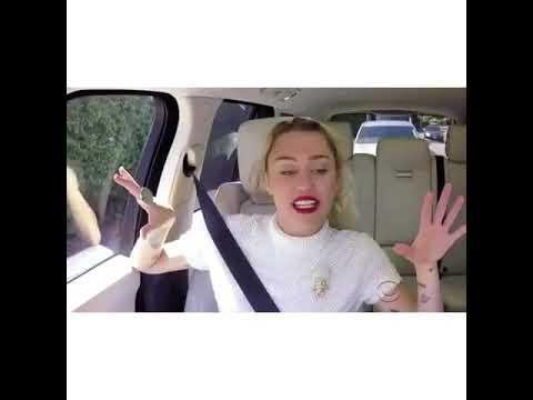Miley Cyrus - Party In The USA (Carpool Karaoke)