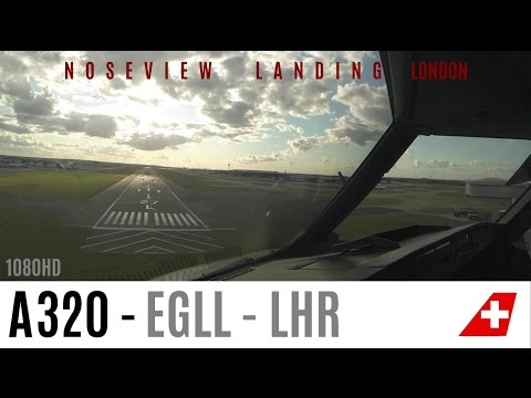 Great Landing at London Heathrow by First Officer on 27L !