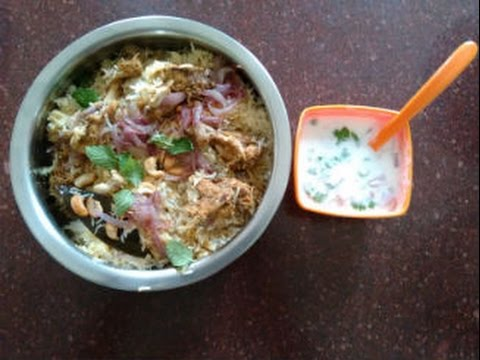 Restaurant style Hyderabadi Dum ki biryani in Pressure Cooker