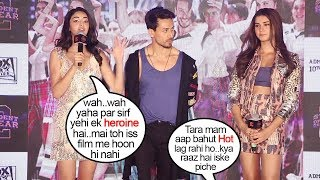 Download Ananya Panday's JEALOUS Reaction When Reporter Gives More Attention to Tara Sutaria Promoting Soty 2 Video