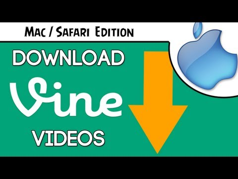 How to Download Vine Videos & Save them on Mac in Safari Tutorial