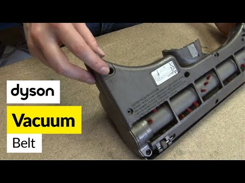 How to replace the dyson belt on a Dyson DC25 vacuum cleaner
