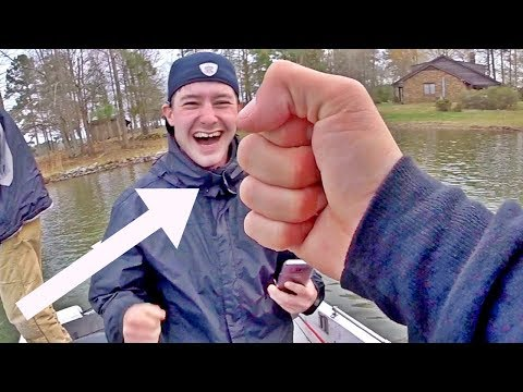 HE DID IT!! HILARIOUS Day Of Fishing With The Boys On Lake Gaston (spring fishing texas rigs)