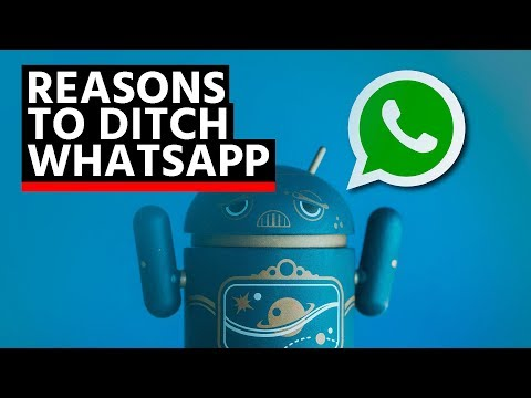 Ditch WhatsApp now!