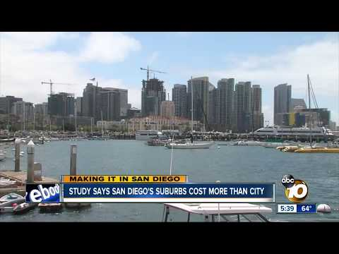 Cost of Living Survey Finds Downtown San Diego More Affordable Than Suburbs