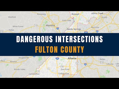Top 5 Most Dangerous Fulton County Intersections