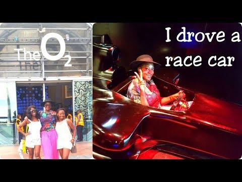 A Day At The O2 | I drove a race car, Nissan Exhibition | London Vlog #2