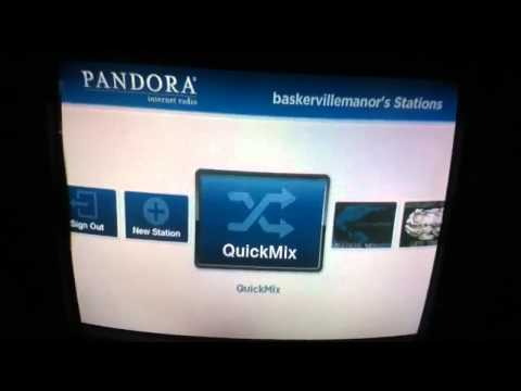 Roku - Pandora Radio - Setting Up And Trying It Out