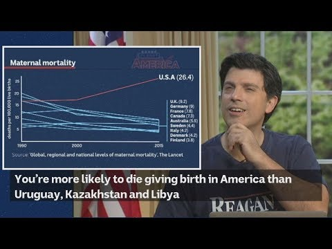 Why are you more likely to die giving birth in America than Uruguay, Kazakhstan and Libya?