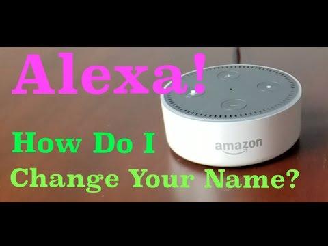 Amazon Echo: How To Change Alexa's Name!