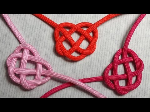 Celtic Heart Knot- The easiest way to do