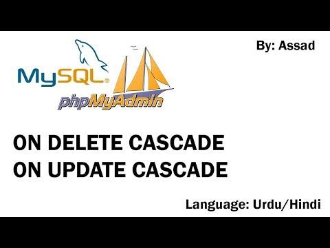 MySQL Cascade on Delete & Cascade on Update Urdu/Hindi