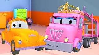 #x202b;متجر طلاء توم شاحنة الجر: فلافي هي الأميرة شارلوت  - رسوم متحركة للشاحانت للصغا#x202c;lrm;