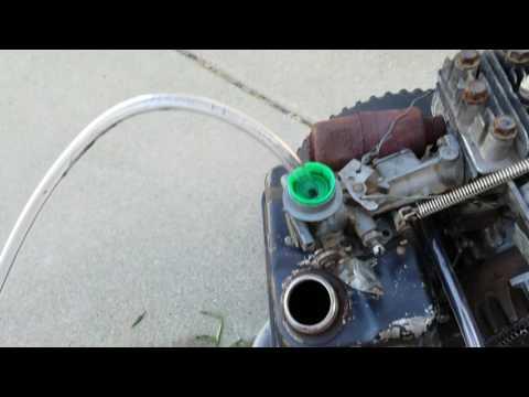Homemade carburetor