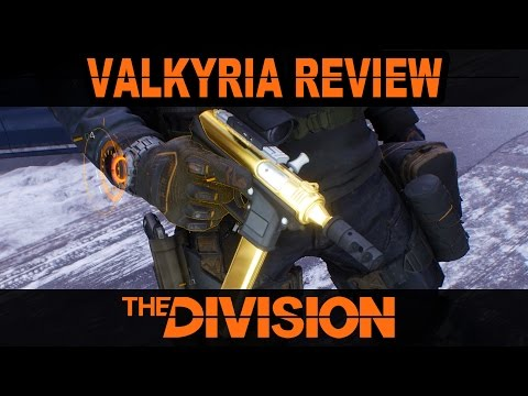 Valkyria Weapon Review & SMG Comparison | The Division
